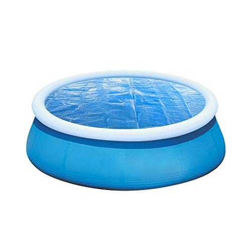 Great Price! Solar Pool Cover Protector, 4-10ft Diameter Easy Pool Cover Set for Inflatable Swimming...