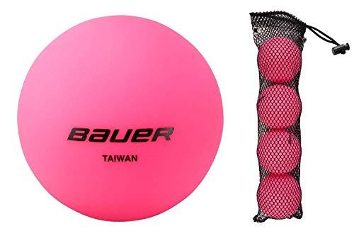 Bauer Cool Pink Hockey Ball (4Stück)