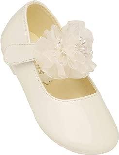KITTENS Girls Velcro Closure Ballerinas