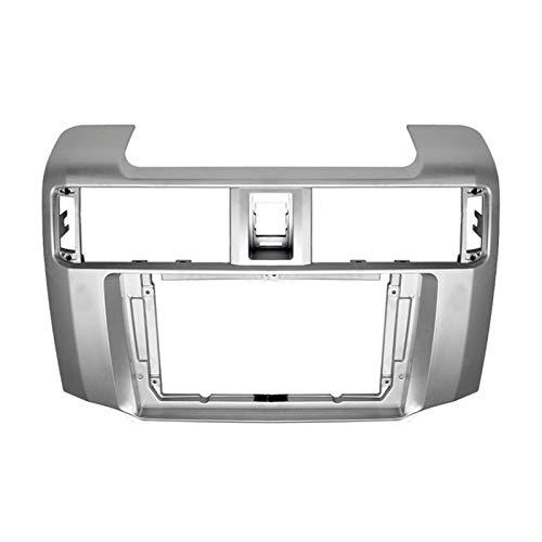 Rumors 9inch Car Fascia Audio Adaptador Adaptador De Radio Navegación Kits De Panel De Navegación Coche DVD Frame Dashboard Fit para Toyota 4RUNNER 2010-2020