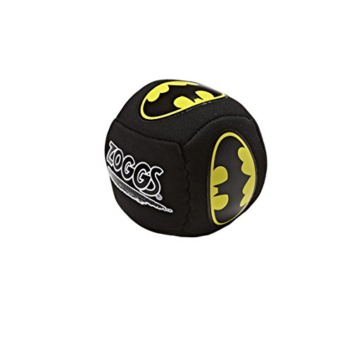 Zoggs Kinder Batman-Single Splash Ball Schwimmspielzeug, Black, One Size
