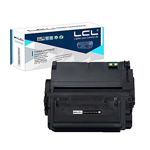 LCL Cartucce di Toner Compatibile 42A Q5942A (1 Nero) Sostituzione per HP Laserjet 4240 4240n 4250 4250n 4250tn 4250dtn 4250dtnsl 4350 4350n 4350tn 4350dtn 4350dtnsl