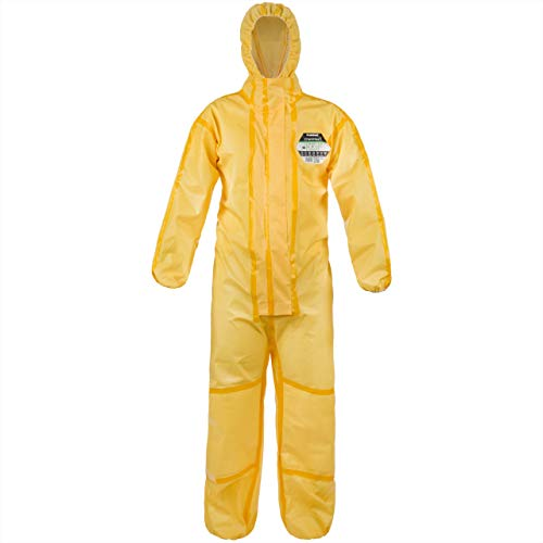 Lakeland Industries Europe Ltd CT1S428XXXL Arbeitsoveralls, gelb, XXX-Large
