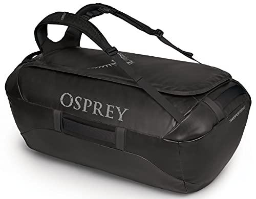 Osprey Transporter 95 Bolsa de Viaje Black O/S, Unisex-Adult