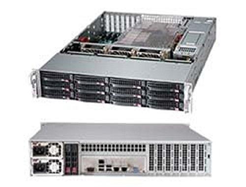 Supermicro 214881 Cs CSE-826BE1C4-R1K23LPB 2U 12x3.5Hs SAS SATA 1200 1000W Bruin Doos