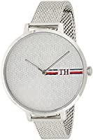 Tommy Hilfiger Reloj analógico para Mujeres. de Cuarzo con Correa en Acero Inoxidable 1782157