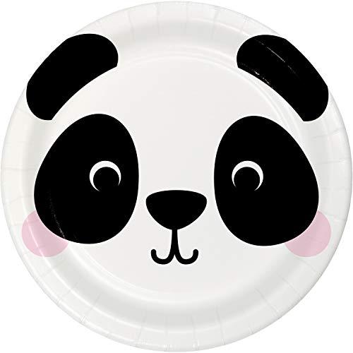 Discover Bargain Panda Paper Plates, 24 ct