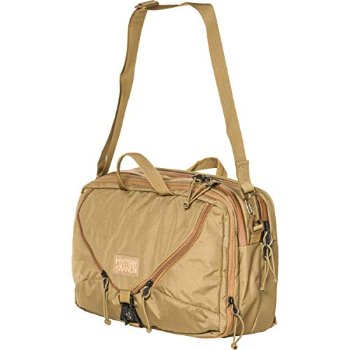 MYSTERY RANCH 3 Way Briefcase - Carry as Tote, Backpack and Shoulder Bag, Coyote