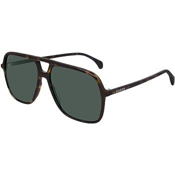 Gucci Gg0545s Dark Havana Green 58 15 145 Herren Sonnenbrillen Amazon De Bekleidung