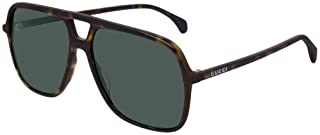Sunglasses Gucci GG 0545 S- 002 Havana/Green, 58-15-145