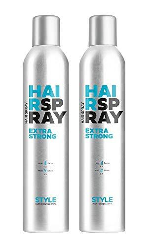 Dusy Style Hair Spray Extra Strong 400ml Haarspray (2 Stück)