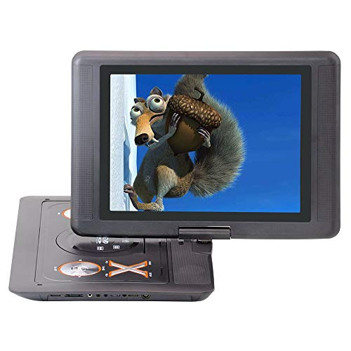 Best Buy! GuangXin 15 Inch Portable DVD Player, with Swivel Screen, USB/SD Slot and 4 Hours Recharge...
