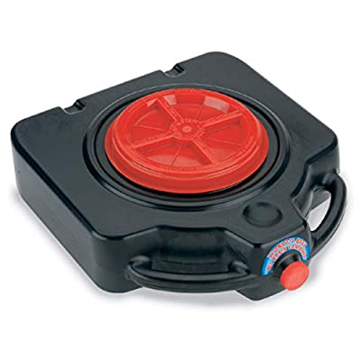 Lumax LX-1632 Black 15 Quart Drainmaster Drain Pan and Waste Oil Storage. Ideal for Oil Recycling, Drain Direct - No Oily Tub, Funnel, or Mess. No Mess to Clean-Up on Top or Side.