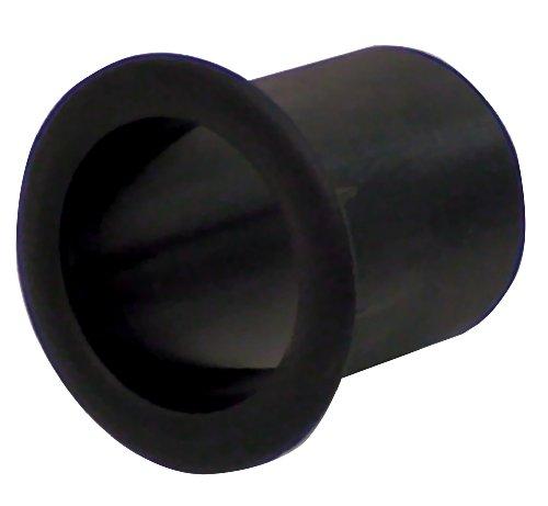 Black Moulded Plastic Port Tube (50 mm)
