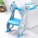 QAZW Adaptador WC para Niños Altura Ajustable-Reductor WC Ayuda para Aprender a IR al baño con...