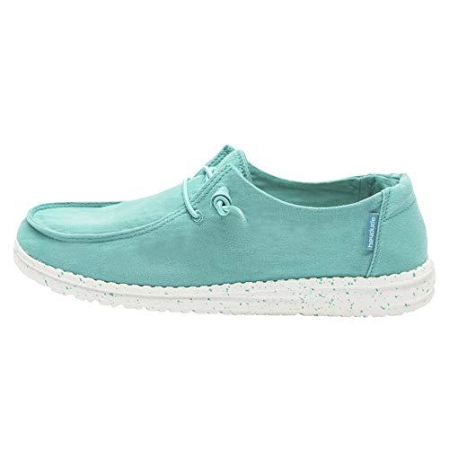 Dude Shoes Damenwendy Gewaschene Minze UK6 / EU39