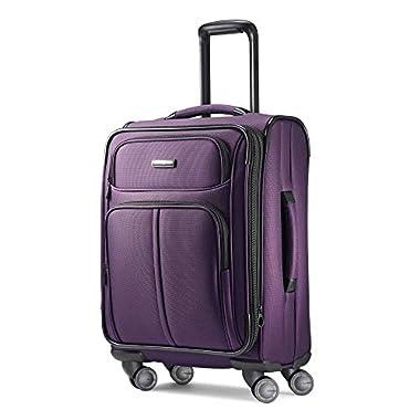 Samsonite Leverage LTE Spinner 20 Carry-On Luggage, Purple