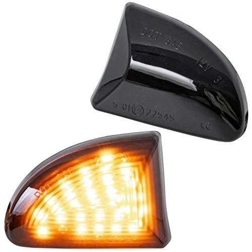 phil trade LED SEITENBLINKER schwarz kompatibel für FORTWO A451, C451 | Cabrio & Coupe | 7232-1