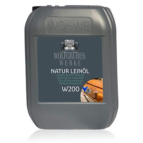 10L Natur Leinöl Holzöl Holzschutz Holzpflege Pflegeöl Holz ölen Eiche Buche u.a