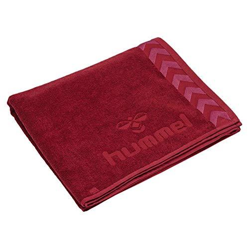 Hummel Toalla Old School Large Towel 208805 Biking Red/Raspberry Sorbet One Size