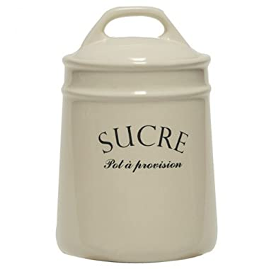 French-inspired  Sucre  Sugar Jar Canister