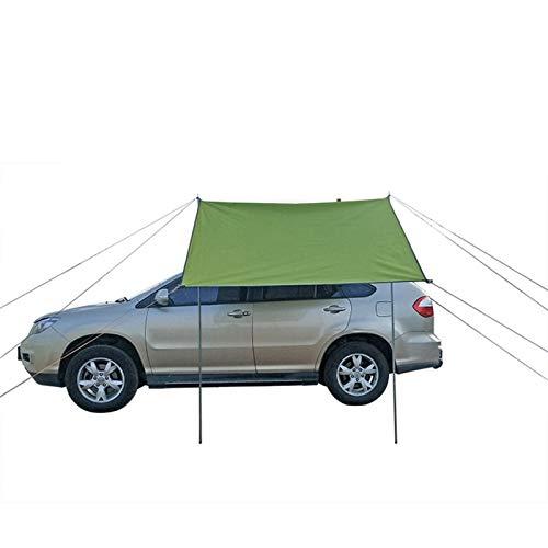 KENG Wasserdicht Zelt, Auto Zelt Markise Dach LKW Camping Reise Shelter Außen Markise-300 * 150cm Draussen (Color : Green)