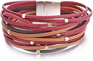 7b512b6492b4 Amazon.es: tiras de cuero para pulseras