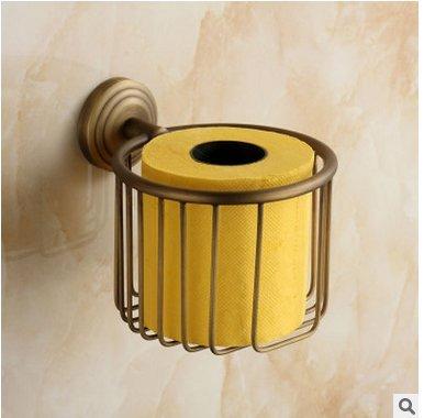 YUCH Cuivre et le papier de toilette rustique titulaire papier serviette rack