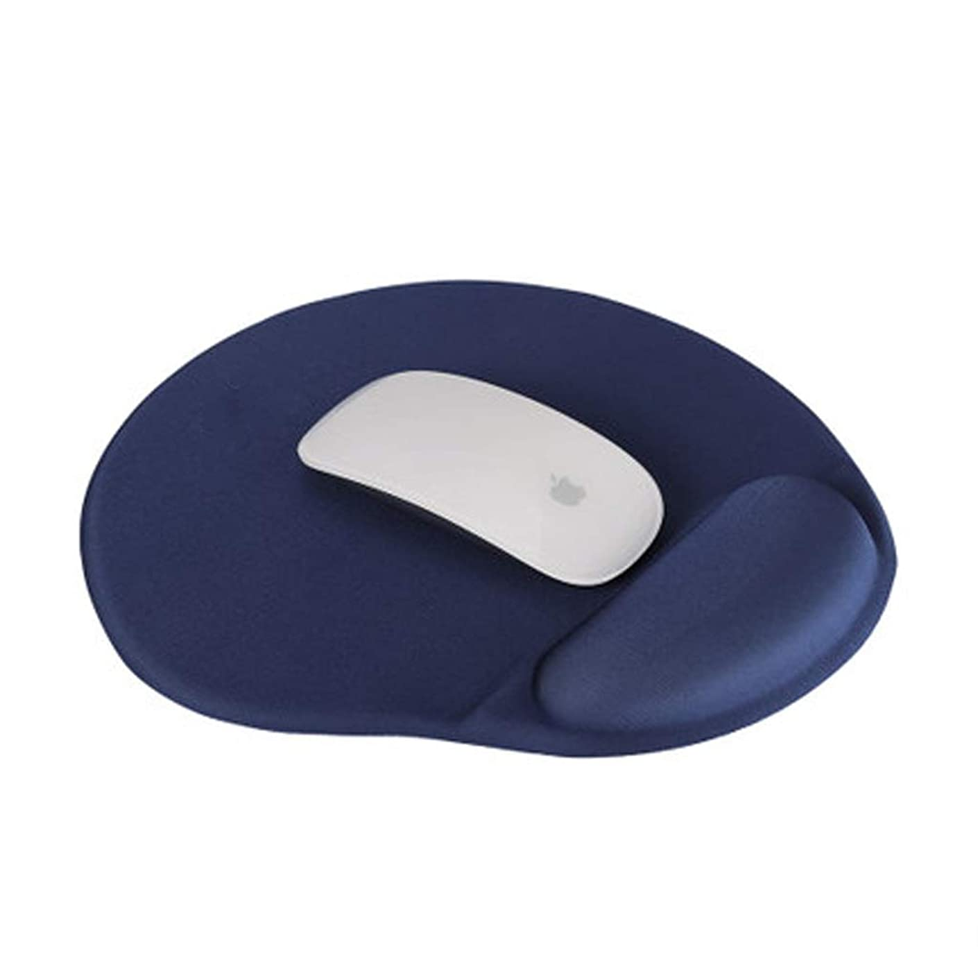 LLSDLS Notebook Mouse Pad Protection Wrist Support Wrist Pad Men and Women Computer Game Memory Cotton Mouse Pad (Color : Blue)