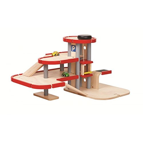 PlanToys Pretend Play Parking Garage (6271)