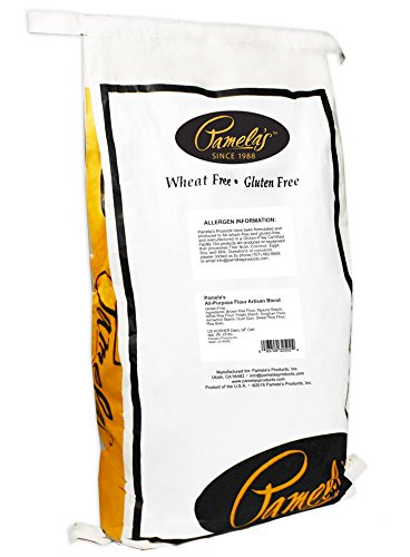 Pamela's Products Gluten Free All Purpose Flour Blend, 25 Pound