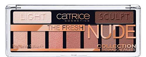 Catrice Collection Eyeshadow Palette, Lidschatten, Nr. 010 Newly Nude, nude, langanhaltend, matt, metallisch, schimmernd, Nanopartikel frei, ohne Parfüm, ölfrei (10g)