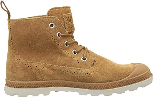 Palladium Damen London Lp Mid W Hohe Sneaker, Braun (Brown Sugar/Cuero), 42 EU