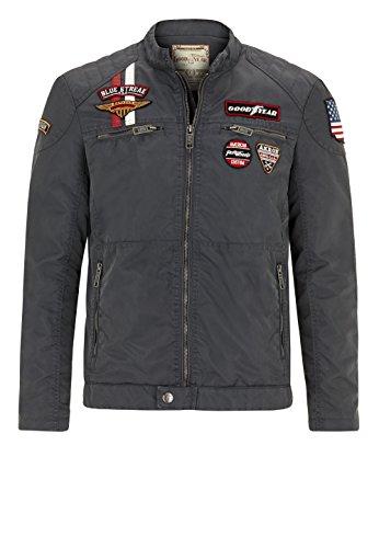 Goodyear Fashion Herren Monahans Jacke, Mouse Grey, XL