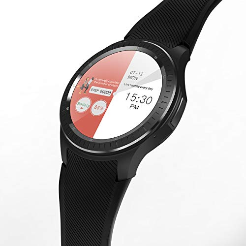 LENCISE 4G Android Smartwatch Phone Android 6.0 1.54Inch IPS Screen Quad Core 16G RAM GPS SIM Heart Rate Monitor Bluetooth Smart Watch.