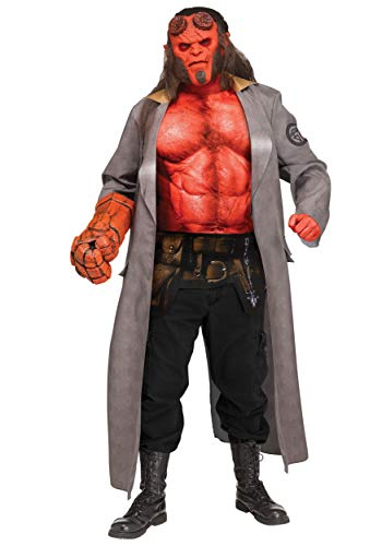Hellboy (2019) Adult Hellboy Fancy Dress Costume Standard