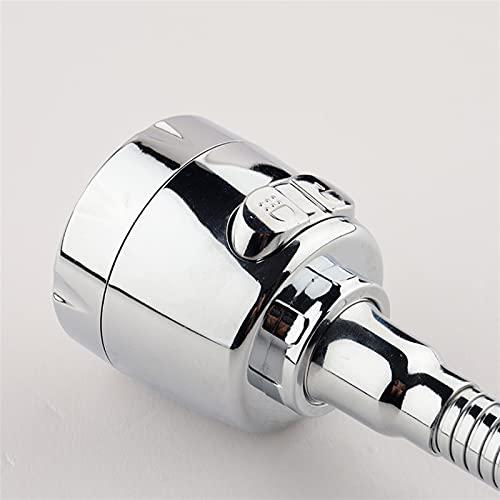 Conector Pulverizador de grifos 360 ° Cocina móvil giratoria Rociador de Grifo de Cocina Boquilla de Fregadero para Adaptador de Grifo (Color : Three Modes L)