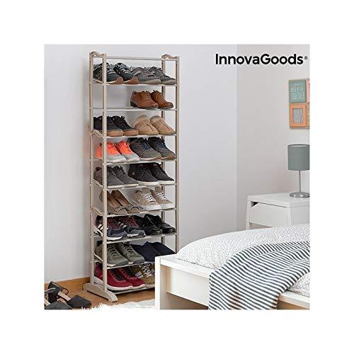 InnovaGoods Lot de 25 Paires de Chaussures 50 x 135 x 25 cm