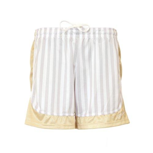 Ballzauber, Pantaloncini Donna, Bianco (Weiß/Gold), M