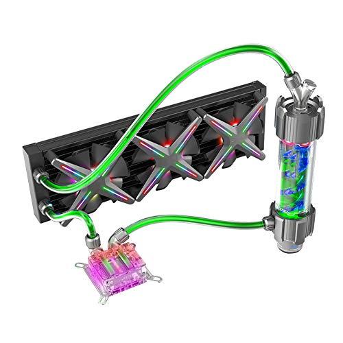PC della Cassa DIY Acqua Coolling 360 Millimetri Regolabile RGB, su Applica per ASUS SYNC Gigabyte RGB Fusion Support LGA 115X / AM2 / AM3 / AM4