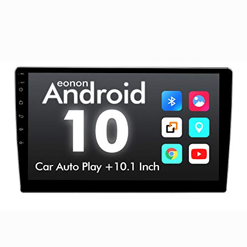 2020 Double Din Car Stereo,Android 10 Radio with Bluetooth 4.0, Eonon 10.1 Inch Car Radio Android Head Unit Car Stereo with Navigation with WiFi/Fast Boot/Backup Camera(NO DVD/CD)-GA2187