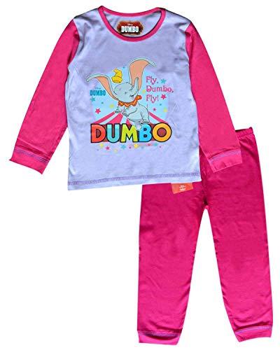 Mädchen-Kinder Dumbo Long Length Baumwollpyjamas 18-24 Monate