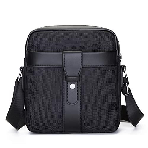 ZAICCI Borsello Uomo Tracolla Impermeabile Borsa Messenger Bag Borsa a Spalla a Tracolla per Ufficio Lavoro Scuola Viaggio (Nero)