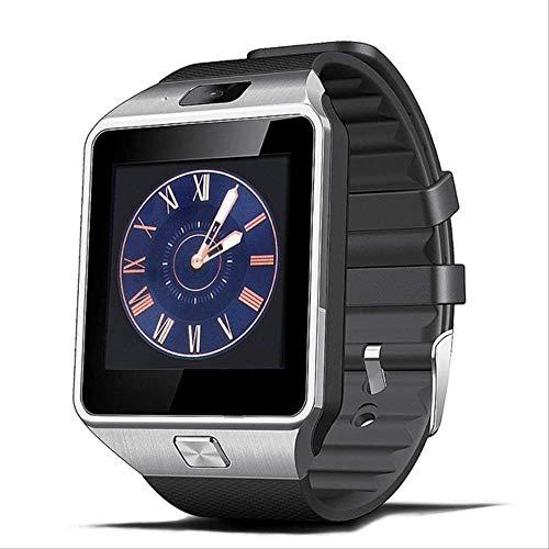 YUJY Smartwatch Smartwatch Uhr mit SIM-Kartensteckplatz Push-Nachricht Bluetooth-Konnektivität Android-Handy Besser als DZ09 Smartwatch Herrenuhr Schwarz