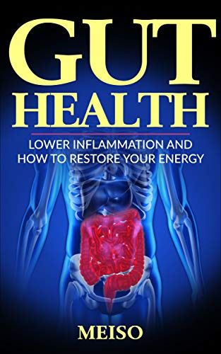Gut Health: Lower Inflammation and How To Restore Your Energy (Best Food Living Lifestyle Options Guide Tips Techniques Importance Supplements Diet Books ... Plan Digestion Bacteria) (English Edition)