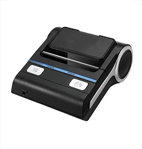 Drucker Bluetooth-Empfang, (Belegdrucker) Wireless-Thermodrucker 80 mm Kompatibel mit Android/iOS/Windows-System ESC/POS-Druckbefehle Set, für Supermärkte