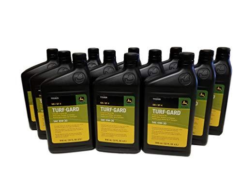 John Deere Turf-Gard SAE 10W-30 Oil Quarts - TY22029 (Qty of 12)