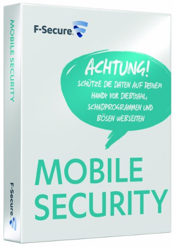 F-Secure Mobile Security 2011 - Windows Mobile - Symbian - Android - 12 Monate