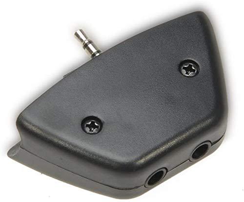 2,5-mm-Klinkenstecker, Mikrofon auf 3,5-mm-Audio-Adapter, Konverter für Microsoft Xbox 360 Controller, Headset, Kopfhörer