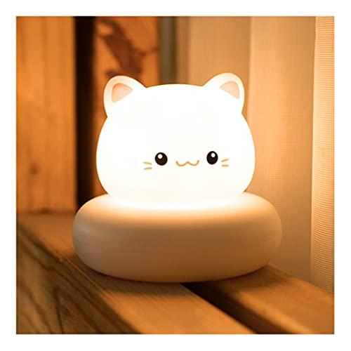 Lindo LED Light Light NEGRY Light, luz de la Noche de Ahorro de energía de Carga USB, para los pasillos Dormitorios Habitaciones para niños Bebés Bebés Lámpara de Noche Inodoro